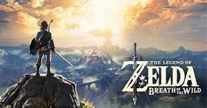 Zelda Breath Of The Wild Juego Nintendo Wii U