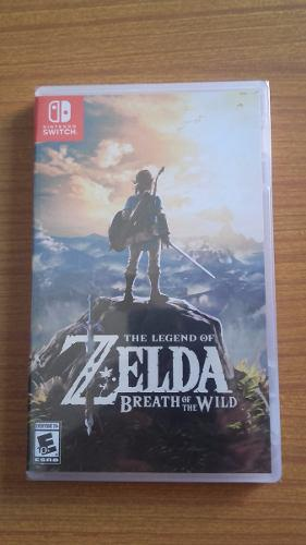 Zelda Breath Of The Wild Nintendo Switch Fisico Sellado