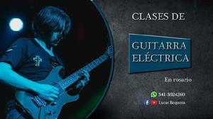 Clases de guitarra eléctrica en Rosario (Santa Fe)