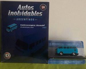 Coleccion De Autos Inolvidables Salvat N 14 Volkswagen Kombi
