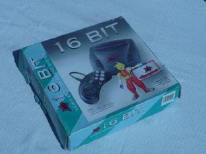 Consola Video Juego Sega16 Bits 2 Joystick 4 Juegos