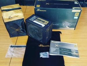 Fuente Seasonic 850w full modular x-series (Gold)