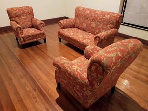 Juego 3 sillones antiguos