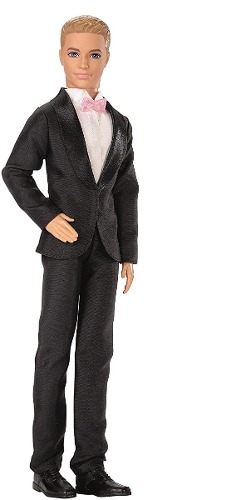 Ken Novio Muñeco Original Mattel Barbie Tikitavi