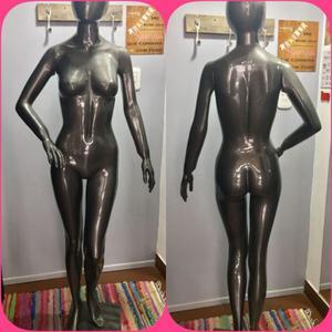 Maniquies De Mujer Fibra De Vidrio Gris Oscuro
