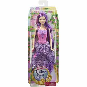 Muñeca Barbie Reino De Peinados Mágicos Mattel Original Tv
