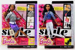 Muñeca Barbie Style Articuladas Accesorios Zapatos Carteras