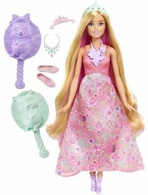 Oferta! Barbie Dreamtopia Princesa Peinados Magicos Tikitavi