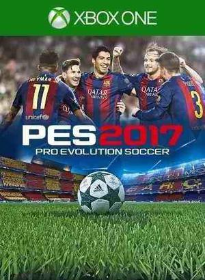 Pro Evolution Soccer 2017 Xbox One. En Caja, Sellados.