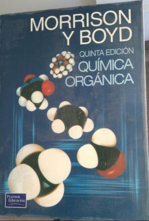 Química orgánica. Morrison Boyd. 5ta edición