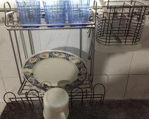 Secador Escurridor De Platos Vasos Cubiertos 2 Pisos secador