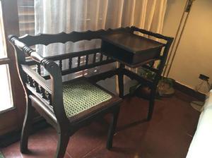 Vintage silla escritorio provenzal