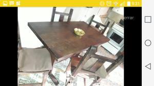 mesa de comedor de algarrobo, solo mesa