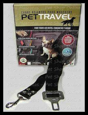 Cubre Asientos Full + Cinturón De Seguridad Para Perros