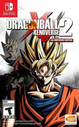 Dragon Ball Xenoverse 2 Nintendo Switch Fisico Sellado !!!