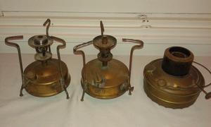 Lote de 3 calentadores antiguos