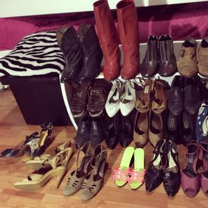 Lote zapatos vintage