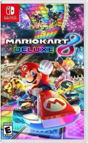 Mario Kart 8 Deluxe Nintendo Switch Fisico Sellado Original!