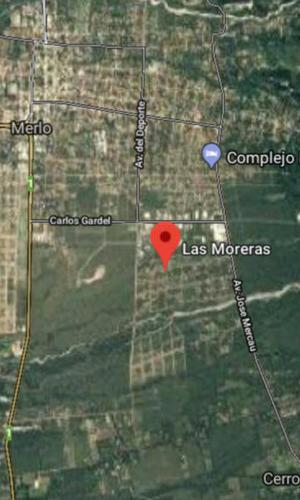Vende Terreno Merlo San Luis, Barrio Las Moreras