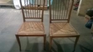 Vendo dos sillas en muy buen estado