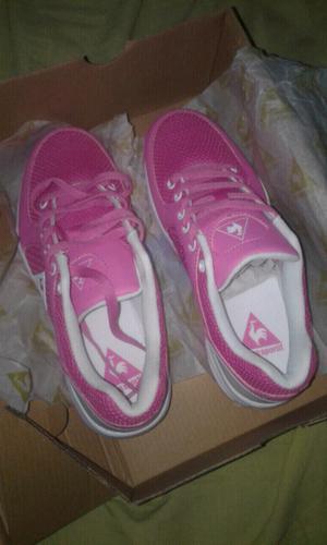 Vendo zapatillas nuevas sin uso marca le coq sportif numero