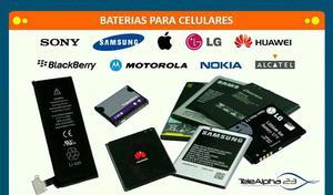 Baterias para celulares LEER MODELOS disponibles