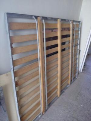 Elastico de madera y hierro reforzado