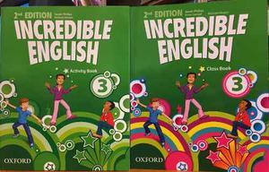 Incredible English 3 - Class Book & Activity Book - Oxford
