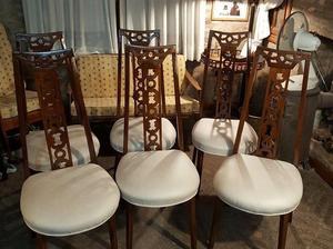 Juego de 6 sillas de comedor