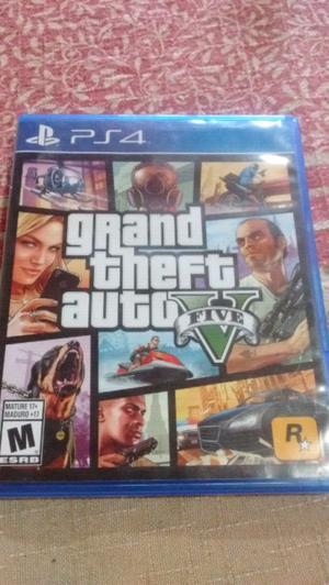 Juego grand theft auto 5 PS4