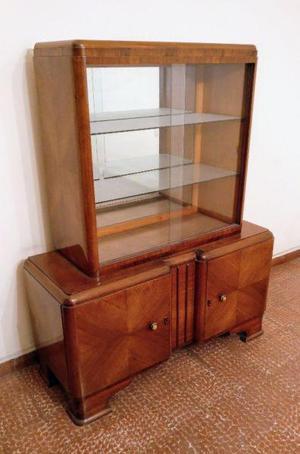 Mueble Con Vitrina, Vajillero, Cristalero