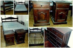 cama de algarrobo en muebles usados y tucum n posot class