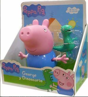 Muñeco Peppa Pig - George Y Dinosaurio Juegos Y Juguetes