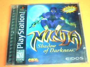Ninja Shadow Of Darkness - Ps1 - Original - Disco Negro