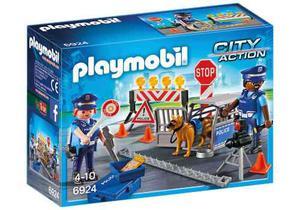 Playmobil City Action  Control De Policia Nuevo Bigshop