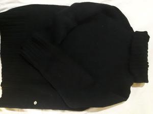 Sweter poleron lana gruesa. Xl