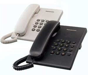Telefono Panasonic Mesa Ts500 Blanco-negro Garantía Oficial