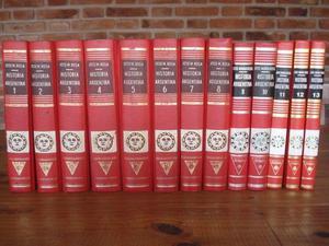 2 Colecciones completas de Historia Argentina. Excelente
