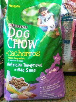 Alimento Balanceado~ Dog Chow~cachorro x 21kg. Envio gratis