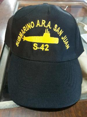 Gorras originales del submarino ara san juan 8227c210957