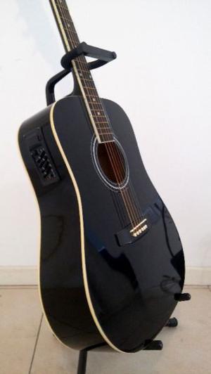 Guitarra Electroacústica Mercury! Perfecto Estado + Funda