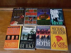 Lote De Libros En Ingles(Novelas, Best Seller)
