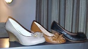 Lote de zapatos de mujer y niños