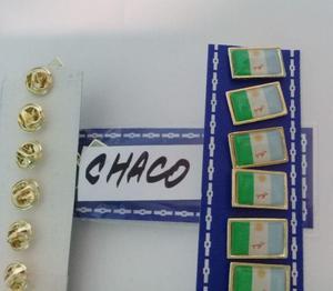 PINS PROVINCIA DEL CHACO DE 2 CMS