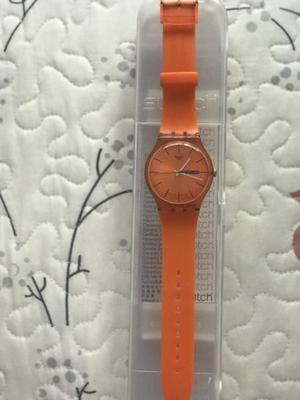 Reloj Swatch Pumpkin Rebel original