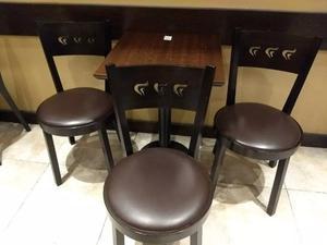 Sillas De Bar Restaurante Confiteria Thonet Sediana 25und !!