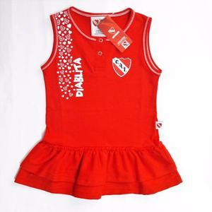 Vestido Independiente Beba Nena Bebe De Licencia Camiseta