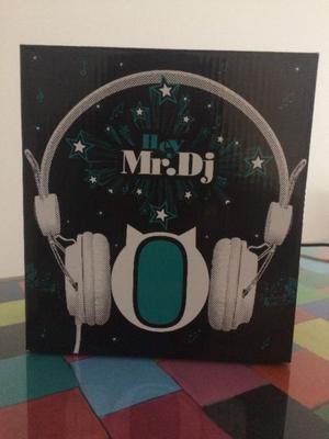 Auricular Con Control De Volumen Mr. Dj NUEVOS