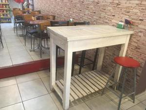 Barra ideal cafeteria o desayunador
