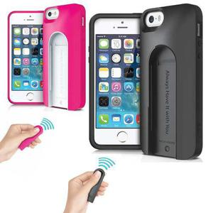 Carcasa Selfie Iluv C.remoto Bluetooth P/iphone 5 Samsung S5